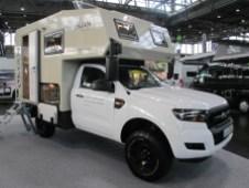 Der Burow Oman: Burow aus Mering bei Augsburg hat sich über den Ausbau von Kastenwagen zu Reisemobilen hinaus fest montierten Kabinen für Pick-ups zugewandt.