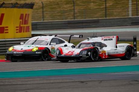 Porsche 911 RSR (92), Porsche GT Team: Michael Christensen, Kevin Estre Porsche 919 Hybrid, Porsche LMP Team: Earl Bamber, Timo Bernhard, Brendon Hartley