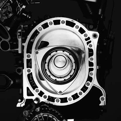 Wankelmotor von Mazda