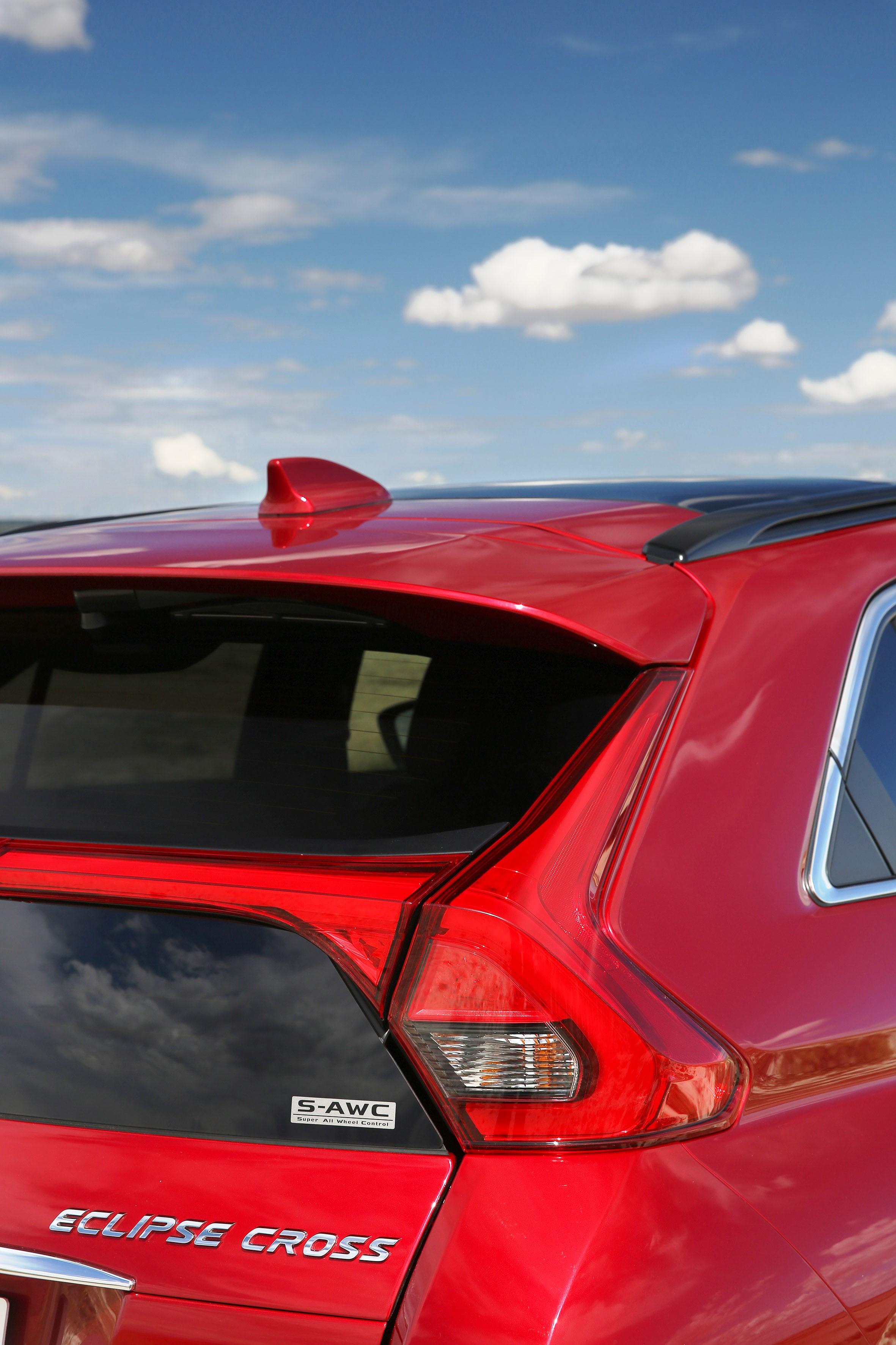 Der Mitsubishi Eclipse Cross Gibt Sich Sportlich Und Elegant