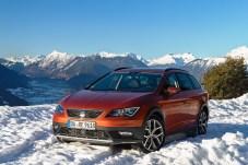 Seat Leon X-Perience im Schnee. Foto: Seat