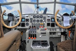 Blick ins Cockpit der Junkers Ju 52/3m D-AQUI. © Deutsche Lufthansa Berlin-Stiftung