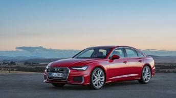 Das Exterieur des Audi A6 besticht durch ausgewogene Proportionen – lange Motorhaube, langer Radstand und kurze Überhänge. Foto: Audi