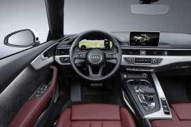 Blick auf das virtuelle Cockpit. Foto: Audi