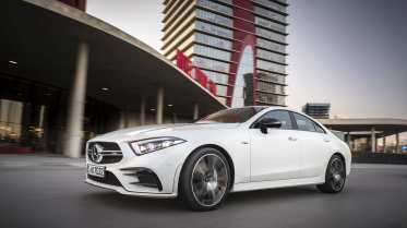 Das CLS Coupé ist erstmalig ein Fünfsitzer. Foto: Auto-Medienportal.Net/Daimler