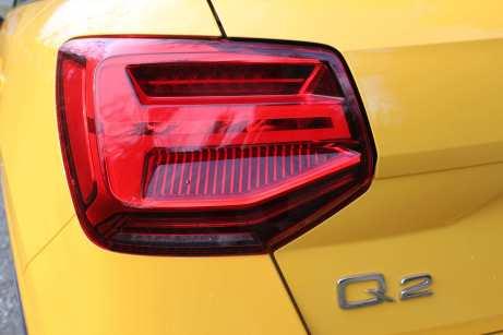 Die Heckleuchten, die an den VW Polo erinnern, reichen bis in die Gepäckraumklappe hinein. Foto: Klaus H. Frank
