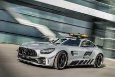 Das Safety Car der Formel 1: Mercedes-Benz AMG GT. Foto: Auto-Medienportal.Net/Daimler