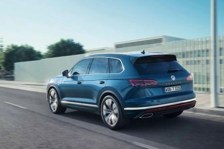 Der Touareg ist jetzt noch dynamischer, ohne dabei alte Tugenden zu vernachlässigen. © VW