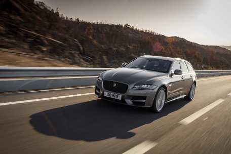 Dynamik in Kombi-Form: der Jaguar XF Sportbrake. Foto: Auto-Medienportal.Net/Jaguar Land Rover