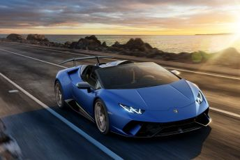 Der Lamborghini Huracán Performante fährt ab sofort als Spyder voraus. © Lamborghini