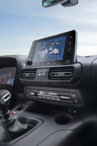 Modernes Cockpit mit 8-Zoll-Bildschirm. Foto: Opel
