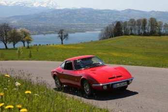 """Der Opel GT wurde gerne auch """"die Corvette des kleinen Mannes"""" genannt. Foto: Auto-Medienportal.Net/Opel"""