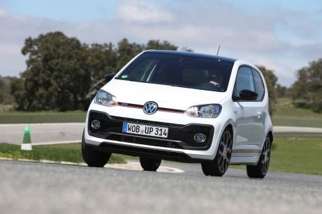Youngster: Der up! GTI mit 115 PS ist das jüngste Mitglied in der hurtigen Familie. © Volkswagen