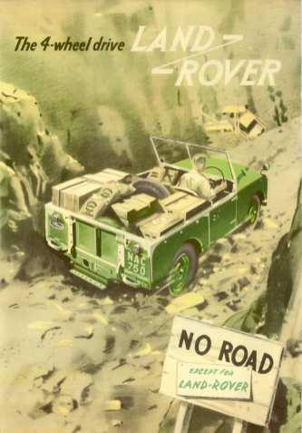 Historische Land-Rover-Werbung. Foto: Auto-Medienportal.Net/Land Rover