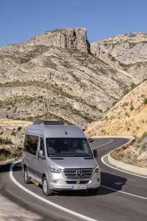 Mercedes-Benz Sprinter Tourer ist beleibt als Basismodell für Reisemobile: Foto: Daimler