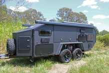Der Hersteller verspricht, dass sein Caravan, dank guter Isolation des Aufbaus, für den Einsatz in Temperaturbereichen zwischen minus 20 und plus 50 Grad geeignet sei. Foto: Auto-Medienportal.Net/Bruder
