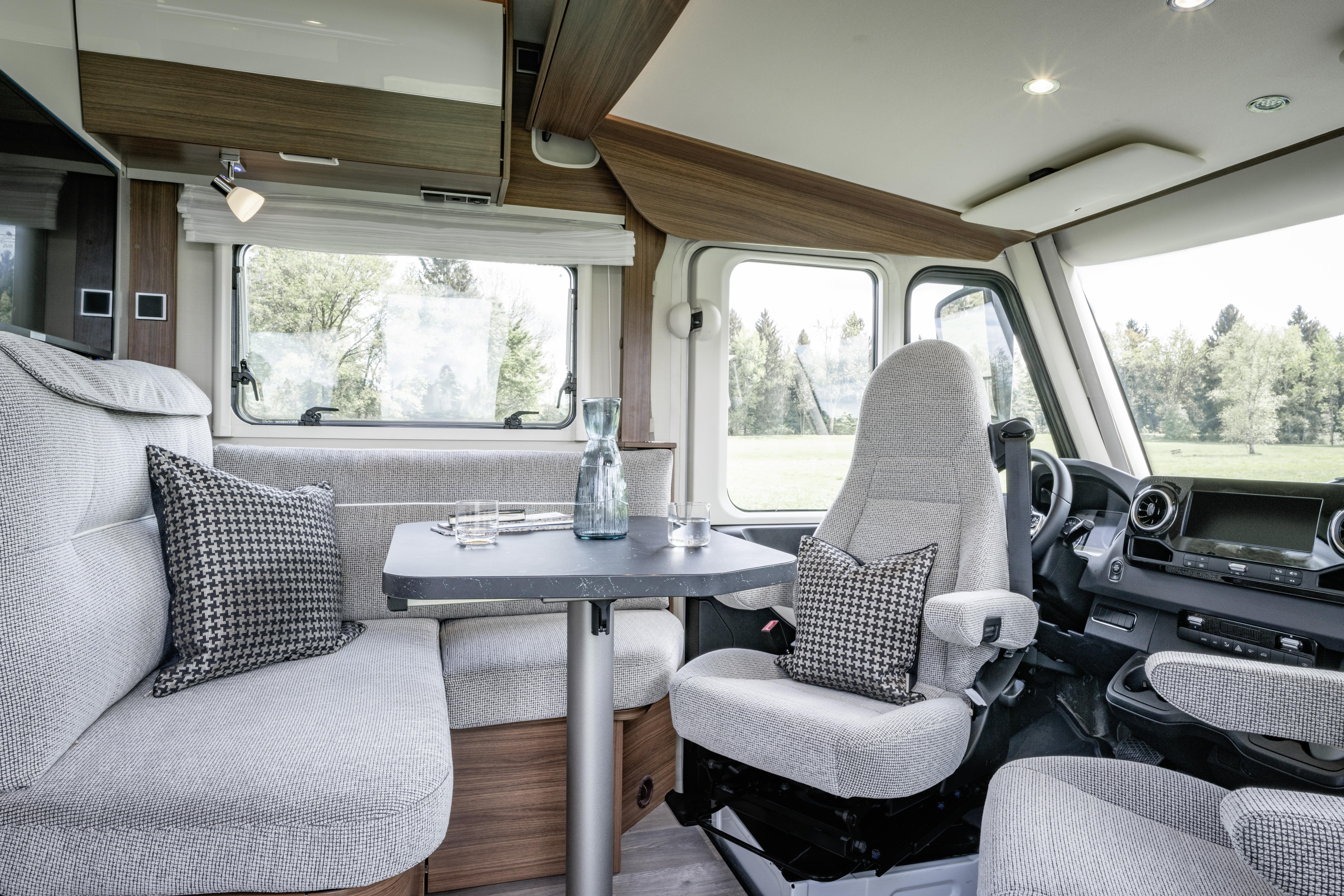 Hymer-Reisemobil jetzt auf Sprinter-Basis mit Frontantrieb – Die ...