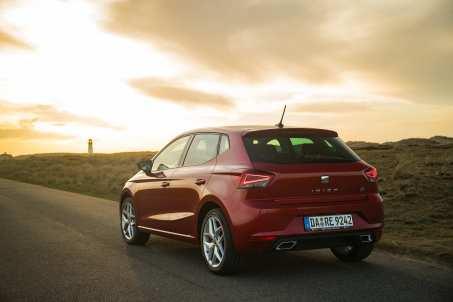 Kein Unterschied zu den Benzinern oder Dieselmodellen: der Seat Ibiza TGI. Foto: Seat