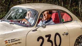 Walter Röhrl und Christian Geistdörfer haben fast keine Rallye ausgelassen. Doch die Mille Miglia sind sie noch nie zusammen gefahren.