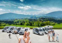 Familien haben den Urlaub in Freizeitmobilen entdeckt. Die Knaus Tabbert Modellpalette lädt dazu ein. Foto: Knaus