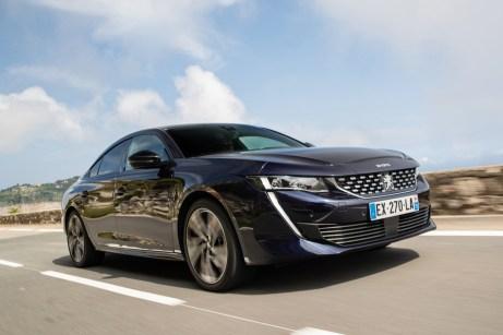 Geschrumpft: Gleich um acht Zentimeter ist die zweite Auflage des Peugeot 508 kürzer als der bis 2015 gebaute Vorgänger. © Peugeot