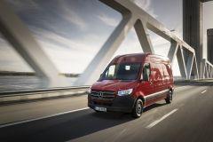 Marktstart des neuen Mercedes-Benz Sprinter in Deutschland. Foto: Mercedes