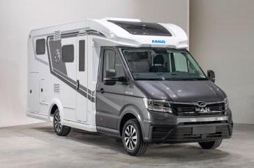 Ein Highlight ist der neue Knaus Van TI Plus, ein komplett neu entwickeltes Modell auf Basis des MAN TGE. Foto: Knaus