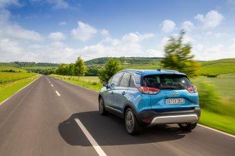 Der Opel Crossland X besitzt einen erstaunlich großen Innenraum. Foto: Opel