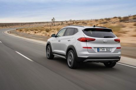 Macht auch von hinteneinen guten Eindruck. © Hyundai