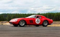 Flaggschiff der diesjährigen Sotheby's-Versteigerung, ein Ferrari 250 GTO by Scaglietti. Experten taxieren ihn auf einen Betrag zwischen 45 Millionen und 60 Millionen Dollar (39 Millionen / 51 Millionen Euro). Foto: Auto-Medienportal.Net/Sotheby's