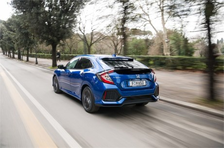 """Je nach Motordrehzahl und Gasbetätigung """"überspringt"""" das Getriebe einzelne Gangstufen, um ein besseres Ansprechverhalten zu bieten. Foto: Honda"""