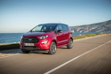 Knuffiges Mini-SUV: Die hohe Gürtellinie lässt den Ford EcoSport etwas pummelig wirken. © Ford