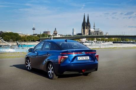 Perfekter Botschafter für die Brennstoffzelle: der Toyota Mirai © Toyota
