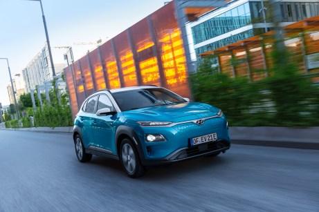 Erstes Elektro-SUV im B-Segment: der Hyundai Kona Elektro. © Hyundai