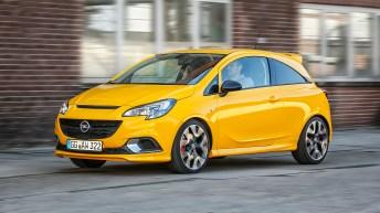 Sportliche GSi haben bei Opel Tradition: Schon der Manta GSi und der Kadett GSi mit 115 PS starkem 1,8-Liter-Motor sorgten 1984 für mächtig Adrenalin im Blut. Foto: Opel