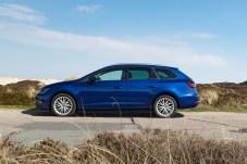 Der Seat Leon TGI fährt mit einem bivalentem Triebwerk. Das heißt: das 1,4-Liter-Triebwerk mit 110 PS läuft sowohl mit Erdgas als auch mit normalem Benzin. Foto: Seat