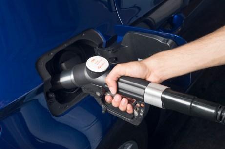 Die Betankung stoppt automatisch, wenn der 15-Liter-Gastank voll ist. Foto: Seat