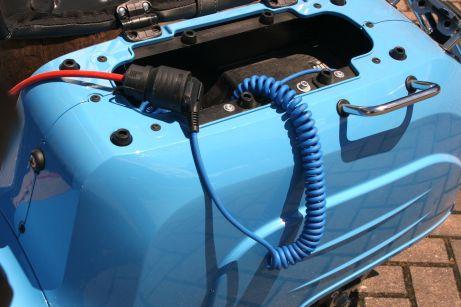 Der in München beheimatete Elektrorollerhersteller Govecs verleiht dem Kleinkraftrad wieder Flügel, und zwar elektrische. Foto: Auto-Medienportal.Net