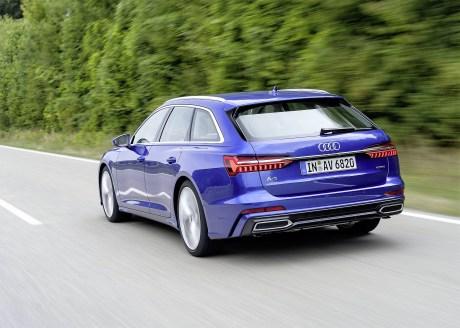Der neue Audi A6 Avant misst 4,94 Meter in der Länge, 1,89 Meter in der Breite und 1,47 Meter in der Höhe. Foto: Auto-Medienportal.Net/Audi