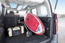 Opel Combo Life bietet Hobby-Sportlern enorm viel Platz. Foto: Opel