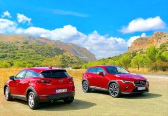 Bei Mazda geht es Schlag auf Schlag. Nach den Updates von CX5 und MX5 ist der CX3 an der Reihe . Foto: Klaus H. Frank