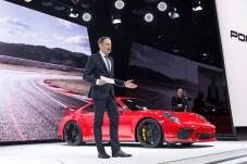Porsche-Chef Oliver Blume erteilt dem Diesel eine Absage. © Porsche