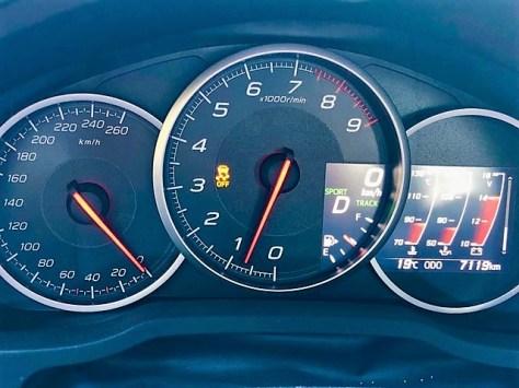 Die Armaturen im Subaru BRZ. Foto: Klaus H. Frank
