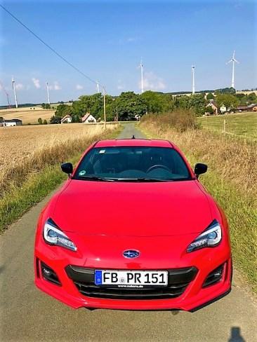 Frontansicht des Subaru BRZ. Foto: Klaus H. Frank