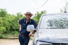 Der Vater des Wettbewerbs: Sarel van der Merve war in seiner aktiven Zeit elfmal südafrikanischer Rallye-Meister. © VW