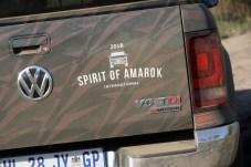 Spirit of Amarok: Das Wettkampf-Logo zierte jeden Wagen. © VW