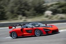 Die typische Grundform aller McLaren-Modelle ist auch beim Senna gut zu erkennen - allerdings spektakulär veredelt. © McLaren