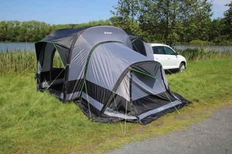 Mit dem Skoda-Campingzelt von Wigo sind Naturfreunde bestens gerüstet. © Skoda