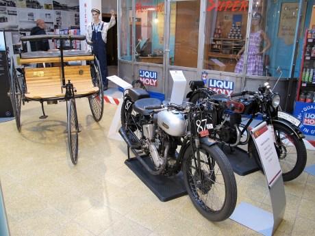 Zwei Imperia-Motorräder von 1932: Grand Prix und 200 Junior