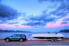 Der Skoda Kodiaq schleppt mühelos 2,5 Tonnen. Foto: Skoda